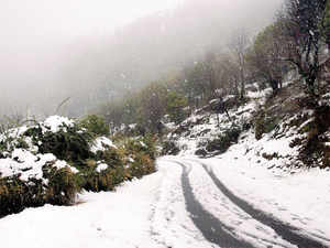 (Representative picture) Hundreds of tourists are stranded in Naran Valley of Pakistan's Khyber Pakhtunkhwa province after heavy snowfall cut off the area.
