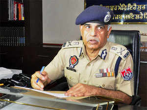 The 1982-batch IPS officer said that he was here to pay obeisance and to pray before the Almighty for the peace and tranquillity in Punjab.