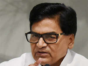 """""""You ask this to the Chief Minister,"""" SP General Secretary Ram Gopal Yadav told reporters when asked about the possibility of reshuffle."""