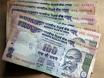 In line with equity market, the rupee ended lower by 13 paise to 64.96 against the American currency on month-end dollar demand from importers.