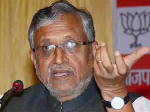 Sushil Kumar Modi today wondered why Nitish Kumar and Lalu Prasad were not sharing dias with Congress VP Rahul Gandhi during his election rallies in Bihar