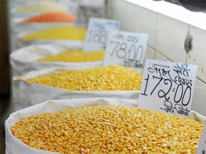 Tur dal prices are likely to continue being high well into next year, as production in the June-September kharif season in Karnataka has fallen short by 45%.