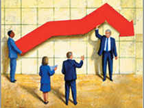 Lead prices declined by 0.13 per cent to Rs 113.20 per kg in futures trade today as participants reduced their positions amid a weak trend at the spot markets.