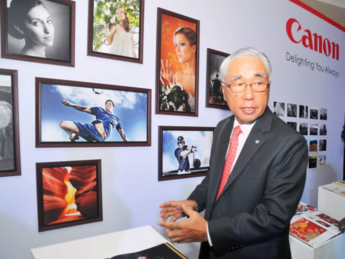 Canon India enters surveillance domain - The Economic Times