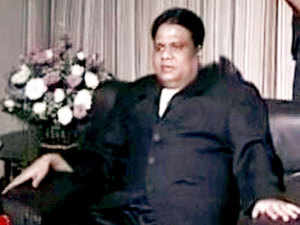 Underworld don Chhota Rajan.