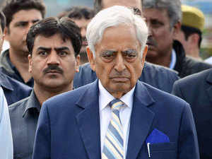 """Amid increase in the number of ceasefire violations, Mufti Mohammad Sayeed today said there were """"no"""" skirmishes on borders during his tenure as Chief Minister as there was a perceptible improvement in relations between India and Pakistan."""