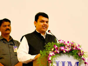 """The Jalyukt Shivar scheme of water conservation. When we came to power there was a drought in 24,000 villages,"" Devendra Fadnavis said."