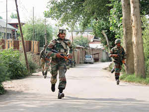 Acting on specific information, a joint team of police and army launched a joint operation late last night in the area, a defence spokesman said.