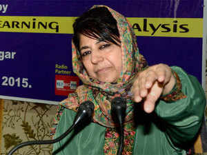 Mehbooba Mufti said the Indian Constitution guarantees freedom to a person 'to eat whatever he wants within the four walls of his house'.