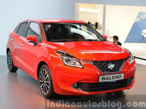 The company had re-introduced Baleno two days ago at New Delhi aiming to garner a significant market share in the premium hatchback segment.