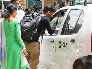 Taxi operator OLA has retained market leadership in the city after registering a 40 per cent month-on-month growth, the company said.