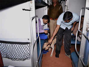 A phone call informing that bombs were allegedly being planted in August Kranti Rajdhani Express sent security agencies into a tizzy, who later found the call to be a hoax.