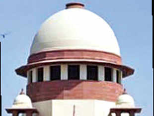 The Supreme Court today reserved its judgement on the pleas filed by Union Law Minister Sadananda Gowda and a BJP MLA against the Karnataka High Court verdict quashing the sanction of a five-storey building in Bangalore built in violation of rules