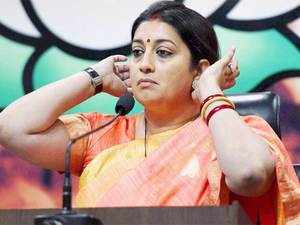 Former UGC member MM Ansari today hit out at HRD Minister Smriti Irani accusing her ministry of interfering in the affairs of the University Grants Commission by ordering to repeal the decision taken on non-NET fellowship issue.