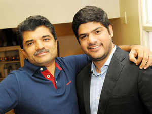 Rajesh Mehta, chairman of Rajesh Exports, and his son Siddharth Mehta, the chief strategist of the company