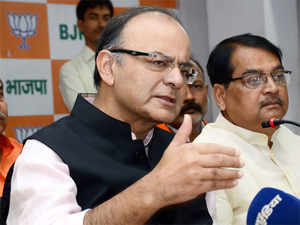 The FM also rubbished the RJD-JD(U) allegation that the PM has lowered the level of political discourse in Bihar elections.