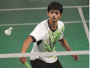 B Sai Praneeth lost his singles pre-quarterfinal match against England's Rajiv Ouseph in a three-setter as Indian challenge at the Bitburger Badminton Open Grand Prix Gold came to an end.