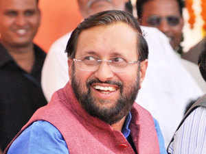 Union minister for state for forest and environment Prakash Javadekar.