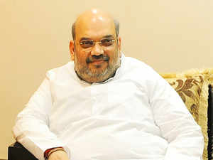 """Acting on a complaint lodged against BJP national president Amit Shah's """"firecrackers in Pakistan"""" comment, the state election office today sought report from the returning officer on the remark."""
