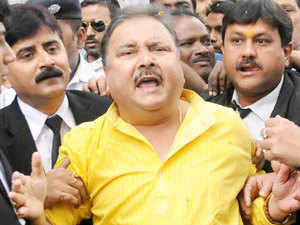 Madan Mitra at Alipore Court in Kolkata.