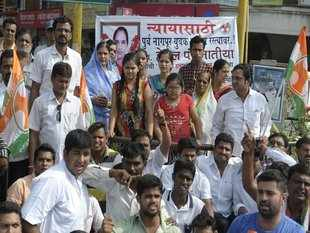 The by-poll in Dewas was necessitated due to Puar's death and BJP has fielded his wife to cash on the sympathy votes.