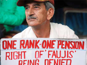 After military veterans, retired paramilitary officials will now hold a 'dharna' here tomorrow demanding One Rank One Pension (OROP) benefits.
