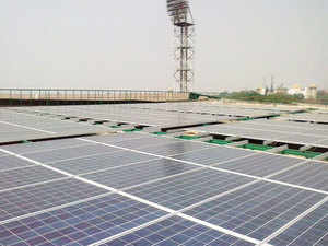 The Visakhapatnam Port Trust (VPT) plans to commission a 10-MW solar power plant by March 2016 in two phases, port authorities said. (Representative image)