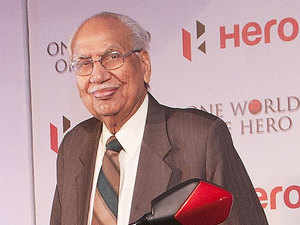 Brijmohan Lall Munjal, 92 years, the grand old patriarch of the Hero MotoCorp group passed away on Sunday after a brief illness.