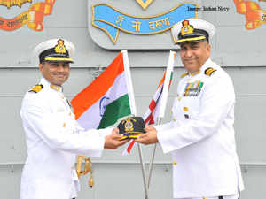 Swaminathan had previously commanded missile vessels INS Vidyut and Vinash, missile corvette INS Kulish and guided missile destroyer INS Mysore.