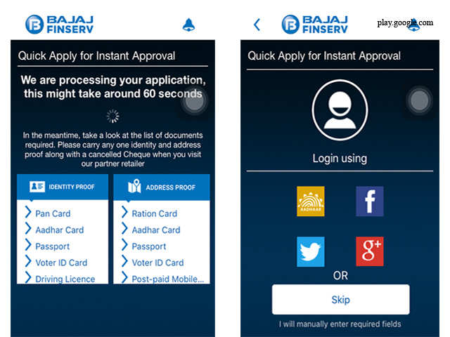 Bajaj FinServ Experia for Android – Free - Six new