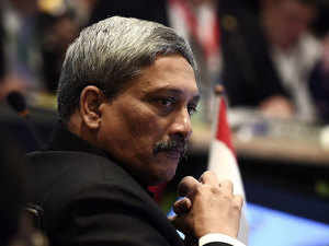 "Parrikar stressed that maritime security is a common challenge. ""The seas and oceans in our region are critical enablers of our prosperity,"" he said."