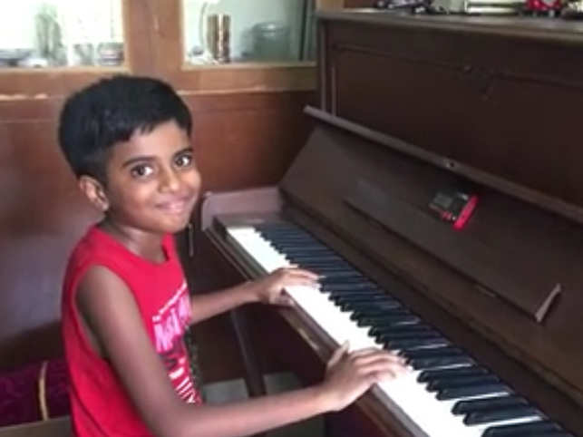 The Piano Boy: This 10-year-old's playing skills will shock you