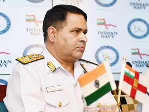 In pic:  Rear Admiral Kishan K Pandey during a press conference regarding the International Fleet Review, to be held in Visakhapatnam (04-08 February, 2016), in New Delhi.