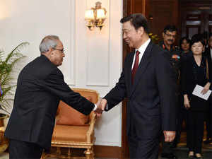 Citing all-round progress in bilateral ties, President Pranab Mukherjee has said Chinese companies were welcome to participate in 'Make in India' initiative.