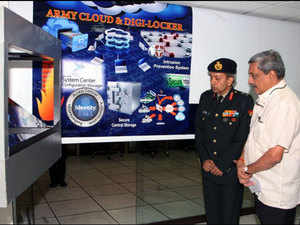 The digi-locker of the army is similar to e-Locker of Digital India programme and has all the features like digital signatures and watermarking.