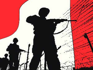 An Army jawan was today injured in an encounter with militants in the forests of north Kashmir Kupwara district, police said