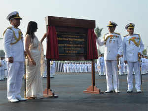 Dhowan said the INS Vishwakarma would enhance the Navy's in-house design and maintenance of capabilities and it would upgrade to a premier establishment.