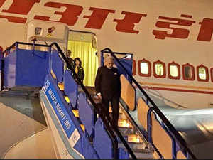 Prime Minister Narendra Modi today arrived in Antalya from the UK on the second leg of his visit to attend the G20 Summit.
