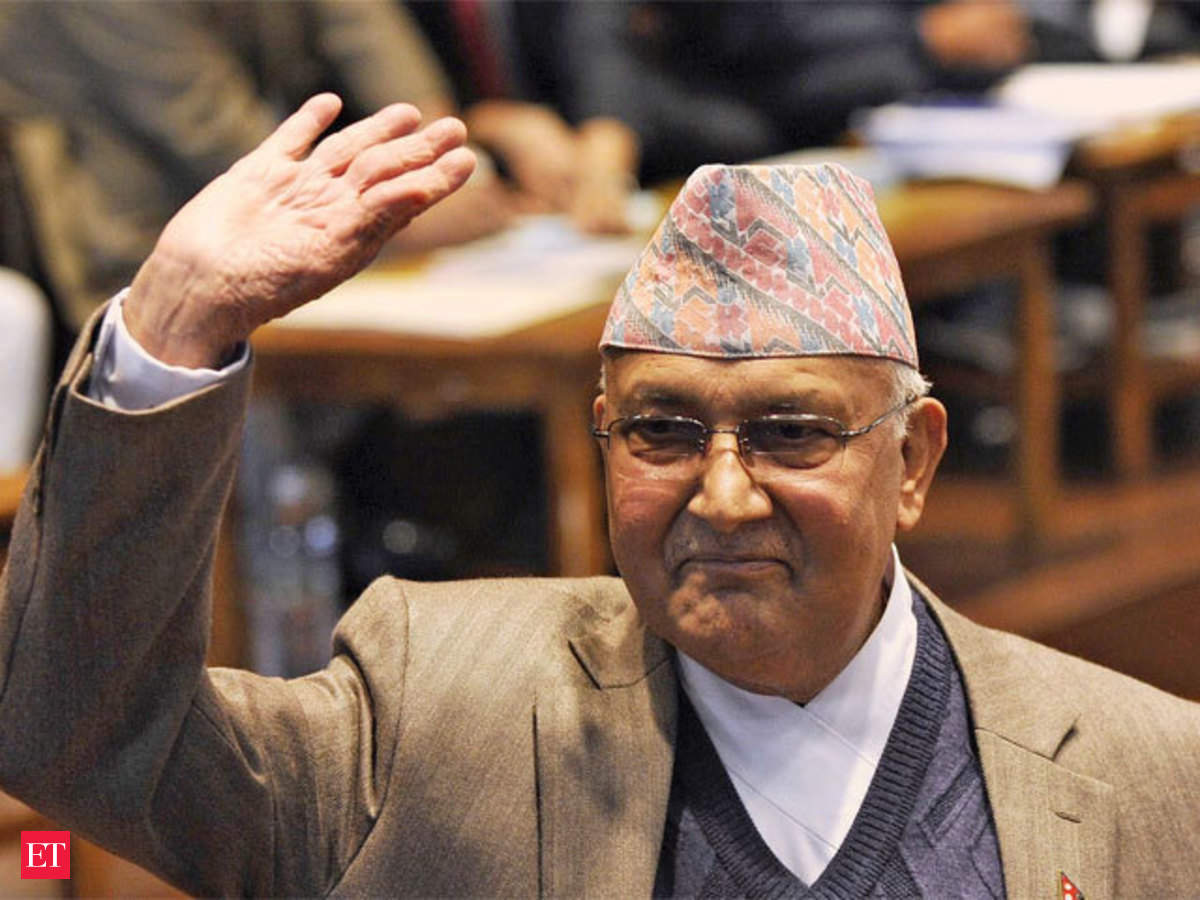 Nepal PM KP Sharma Oli wants India to 'immediately lift undeclared  blockade' - The Economic Times