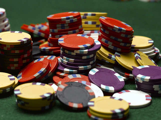 The popularity of poker can be seen not just at tournaments, but also family events such as Diwali parties. (Getty Images)