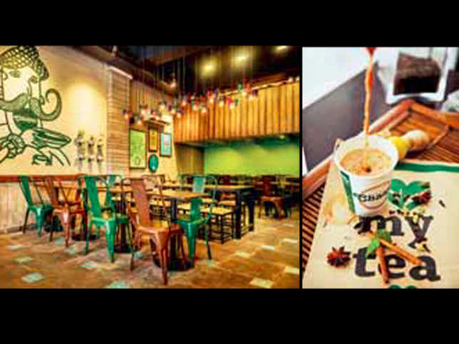Delhi's popular chai café Chaayos makes its Mumbai debut with a Bandra outlet that claims to customise tea in 12,000 different ways.