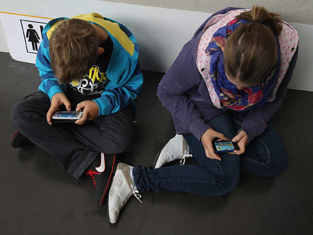 As access to smartphones and tablets increase, children as young as 3 are exposed to games on their parents' devices.