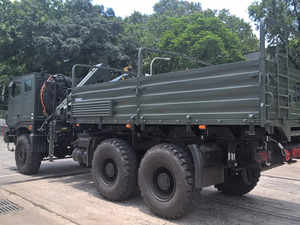 Meanwhile, the company will soon deliver the first batch of high-mobility 6X6 multi-axle trucks to the Indian Army.