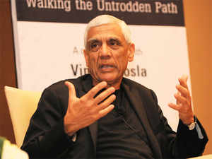 Vinod Khosla, former Sun Microsystems founder, was instrumental in the rise of what we now think of as the computer server.