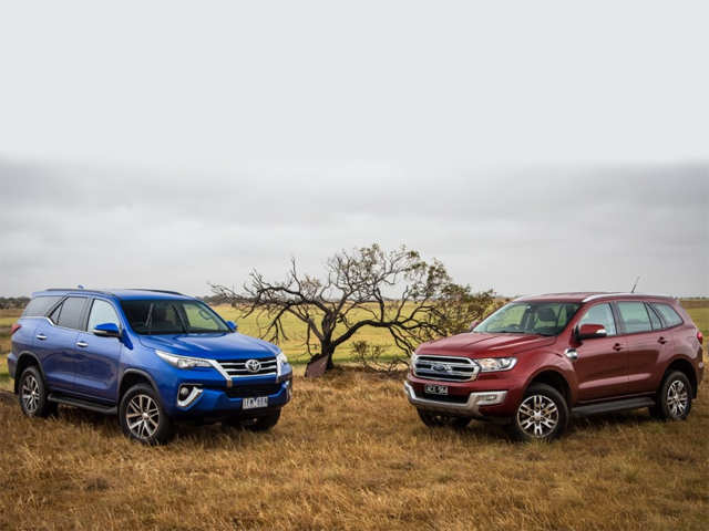 2016 Toyota Fortuner Vs Ford Endeavour