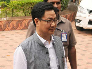"""Challenges are there. We have to accept that it is a reality. The threat is there,"" Kiren Rijiju told Karan Thapar in an interview to the India Today TV programme 'To The Point'."