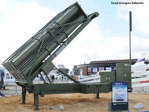 Israeli security sources said that the advanced surface- to-air missile system will be deployed to secure the country's offshore gas fields.