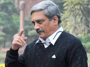 Parrikar will leave for the US on December 4 and will return on December 12, ahead of the Combined Commanders' Conference on board aircraft carrier INS Vikramaditya on December 15, defence sources said.