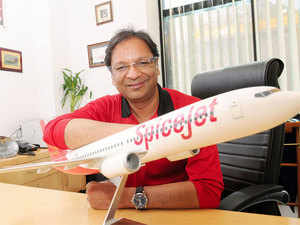 """""""Our customers can expect many more flights and many more exciting offers in the coming months,"""" said Ajay Singh, chairman ans managing director, SpiceJet."""
