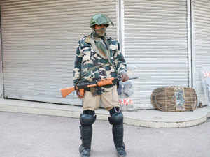 (Representative image) A jawan today suffered a gunshot injury at a CRPF post in Kathua district of Jammu and Kashmir and authorities are probing the incident.